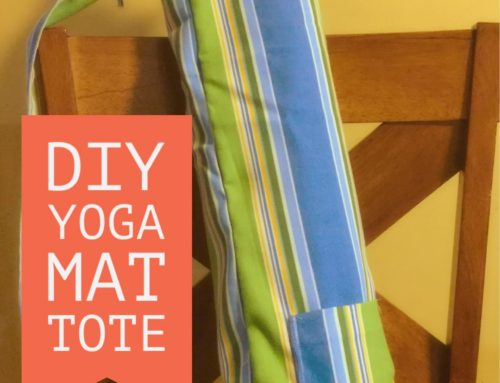 Sewing Tutorial | How To Sew A Yoga Mat Tote Bag