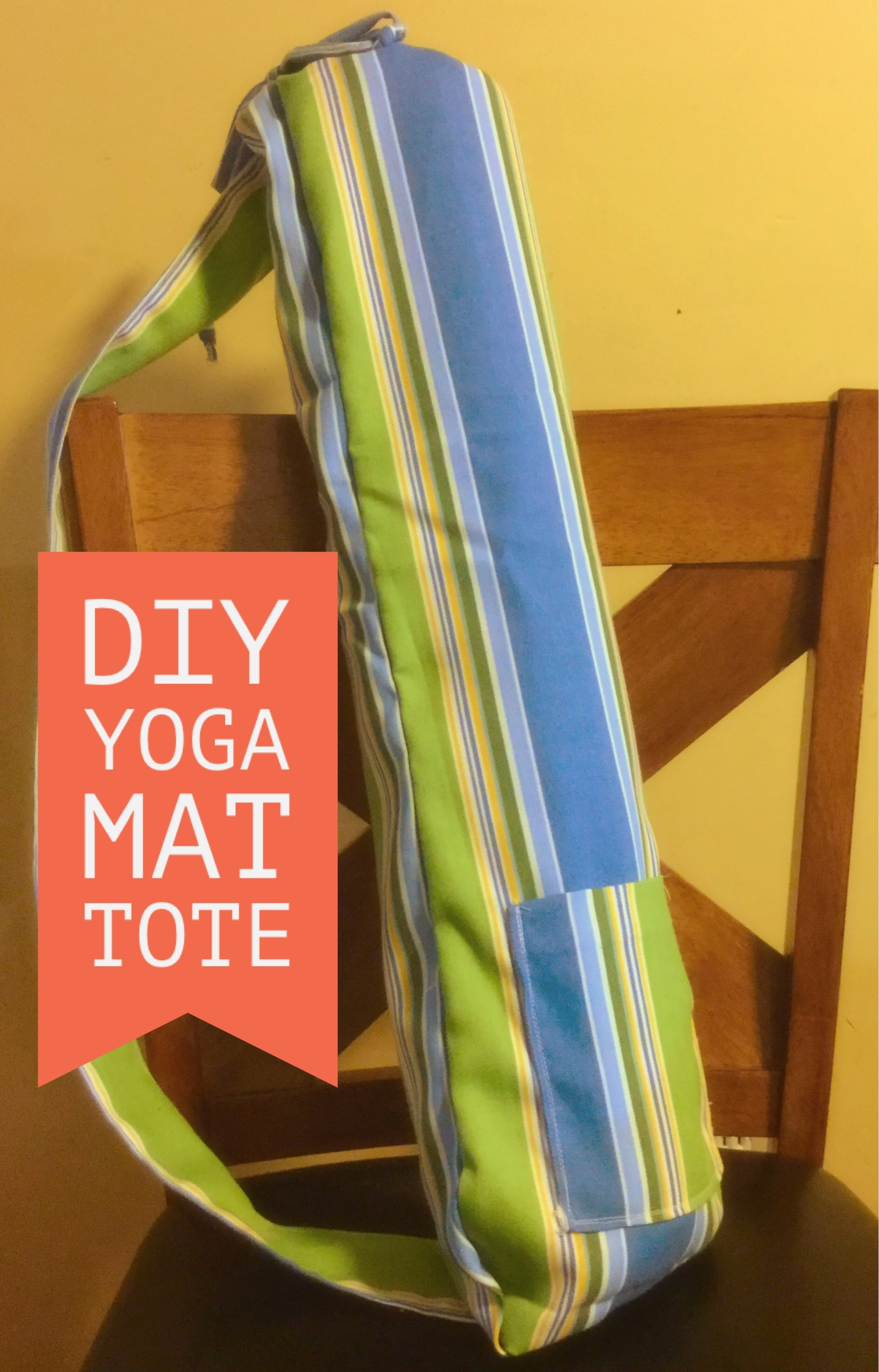 Sewing Tutorial How To Sew A Yoga Mat Tote Bag Innovative Sewing