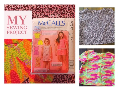 Pattern Review|McCall's M7377 Girls Shirt & Shorts