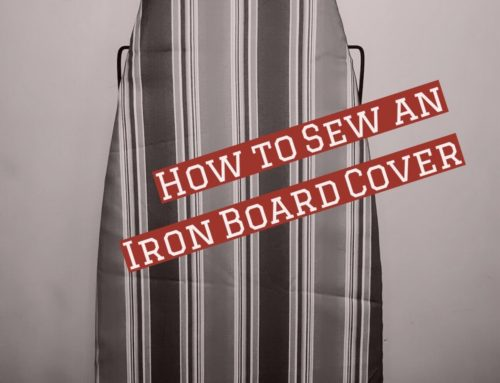 Sewing Tutorial | How To Sew An Iron Board Cover