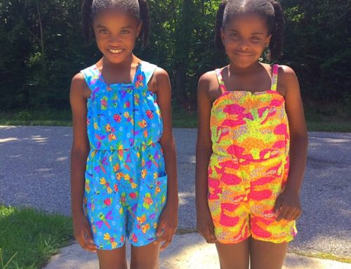 Pattern Review | Simplicity 1145 Girls Romper