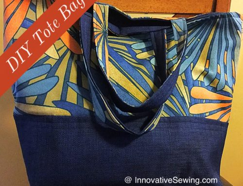 How to Sew A Simple Lined Tote Bag