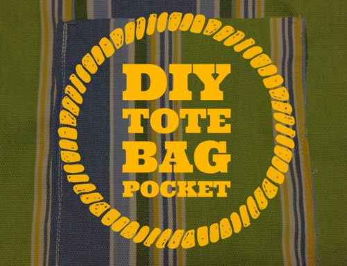 Sewing Tutorial | How To Sew A Tote Bag or Handbag Pocket