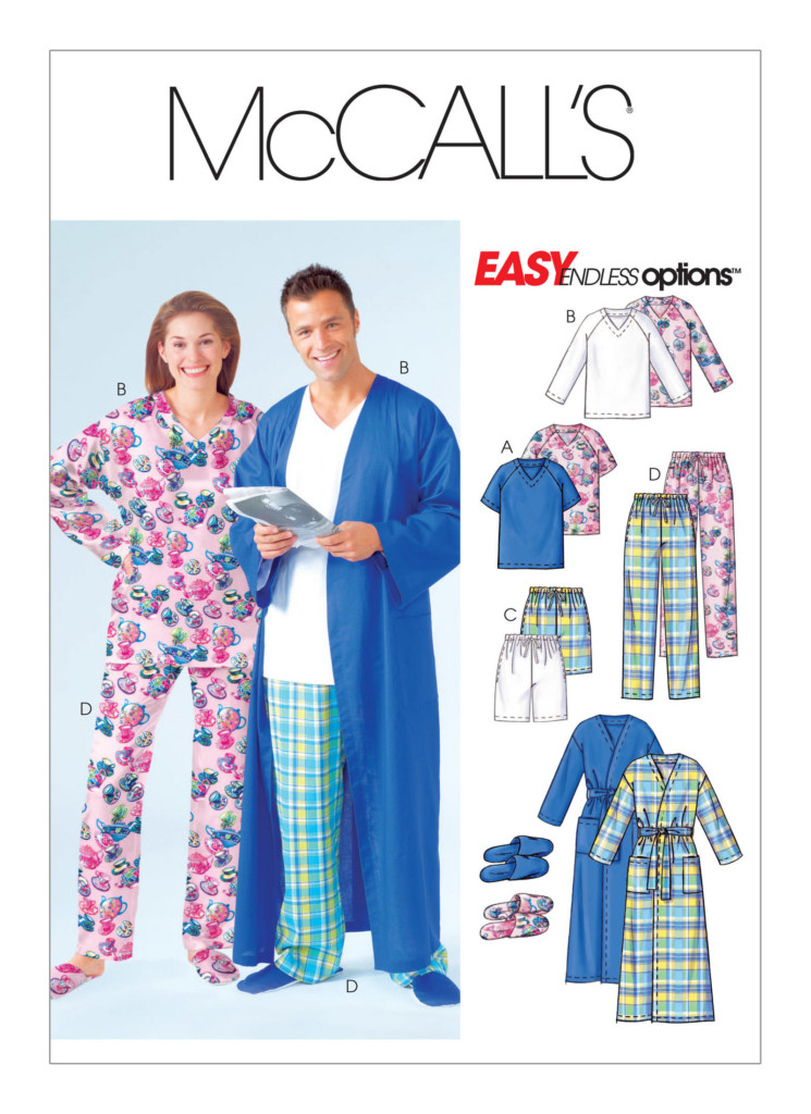 Fleece Robe Sewing Pattern